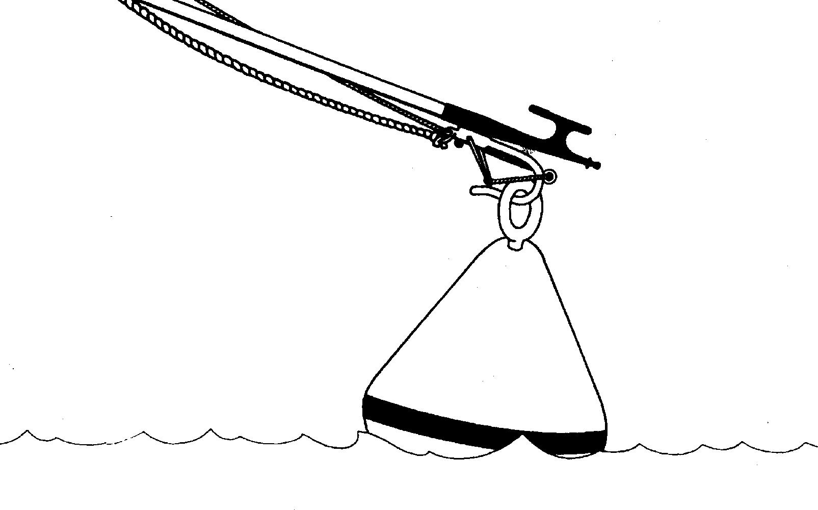 Mooring Buoy & Retrieving Hook
